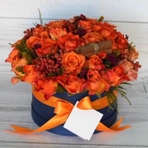 dazzling-orange-luxury-hat-box