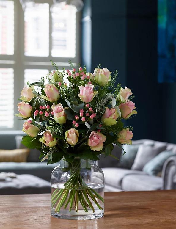 Lustorous Pink In a Vase