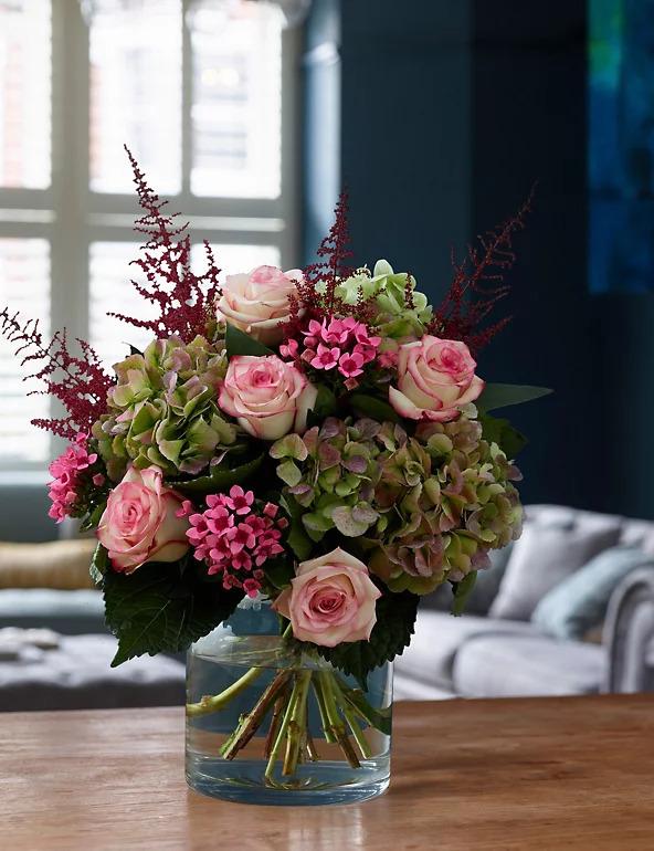 velvet dreams flowers in a vase