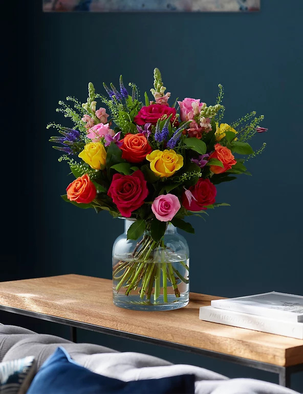 Spring Breeze flowers in a vase